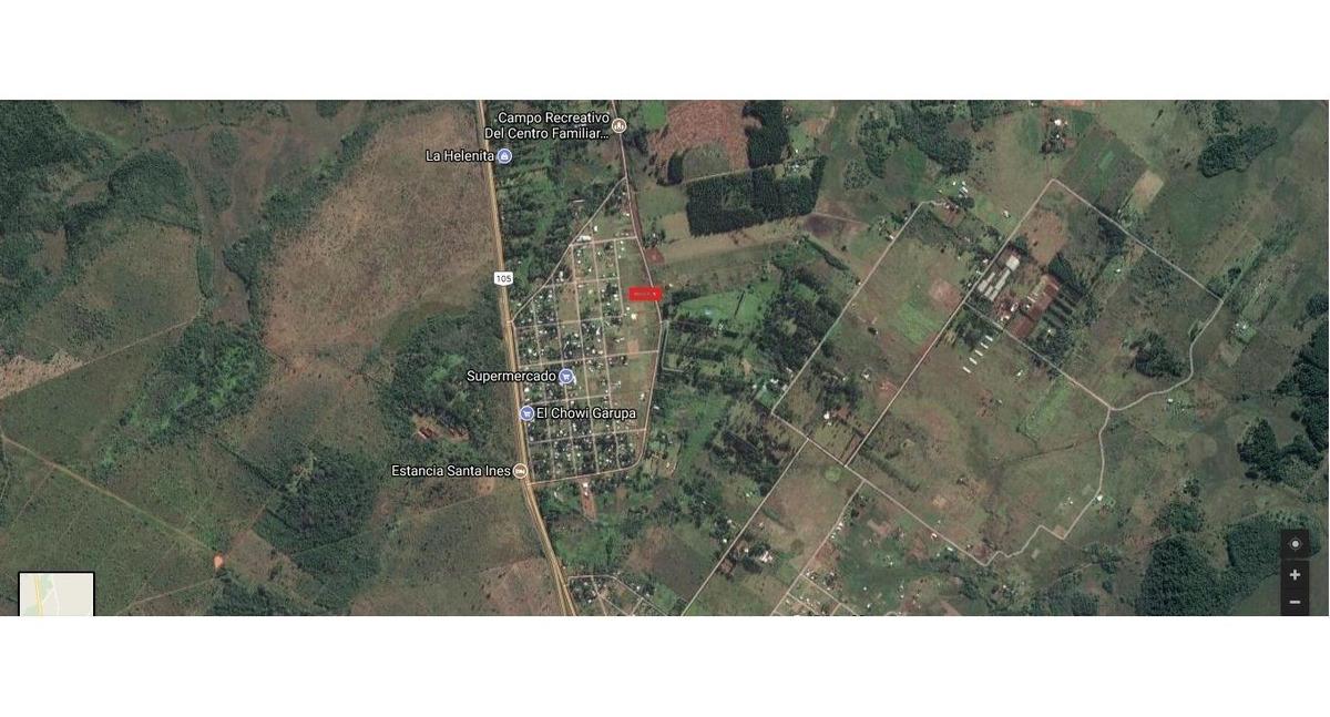 vende terreno en barrio choui garupa (ref:400445)lvr