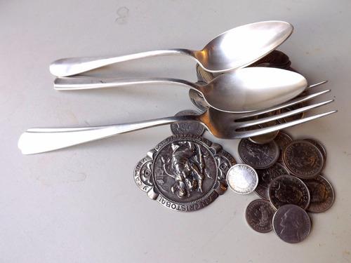 vendé tus monedas antiguas y platería que no usas
