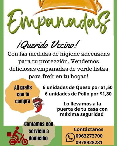 vendemos empanadas de verde