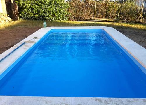 vendemos y colocamos piscinas de fibra en punta del este!!