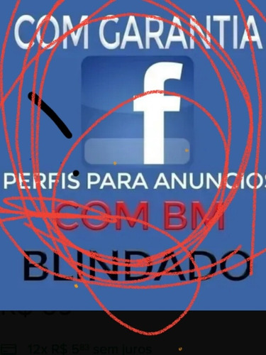 vender perfil  facebook  com bm desbloqueada