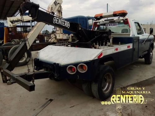 vendida!! grúa  arrastre y salvamento ford f-350 falla motor