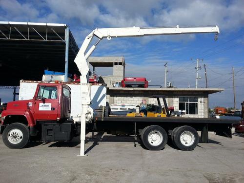 vendida!! grua articulada nation n95 7 tons ford precio neto