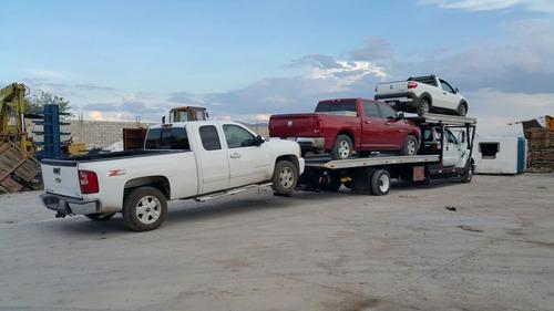 vendida! grúa plataforma rampa ford f650 jerdan 3 vehículos