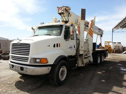 vendida!! grua titan 27.5 tons pionner 4000 ford precio neto