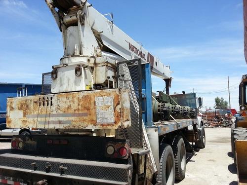 vendida!! grua titan national 15 toneladas func precio neto