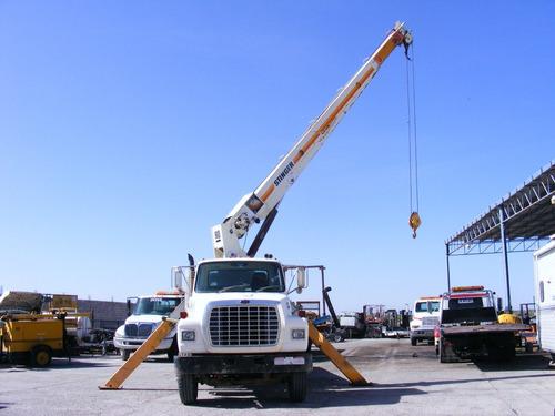 vendida!!!! grua titan ro 15 tons. ford l8000 85 precio neto