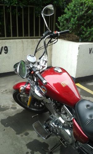 vendida / moto wolken cronos lux 250 cc