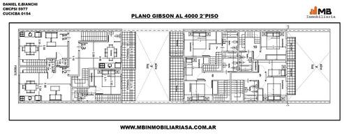 vendido!! boedo 2 amb.c/patio,  gibson al 4000 pb°2