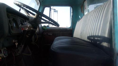 vendido!! camión volteo 6m3 marca famsa international 1981