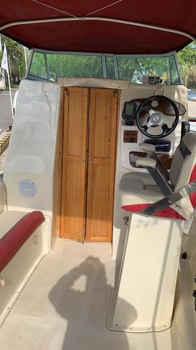 vendido! - tracker cabinado naval center con evinrude 115