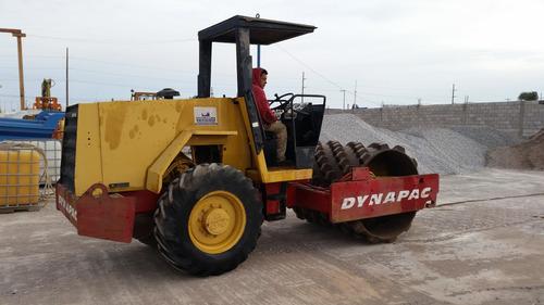 vendido!!! vibro compactador pata de cabra dynapac ca-151pd