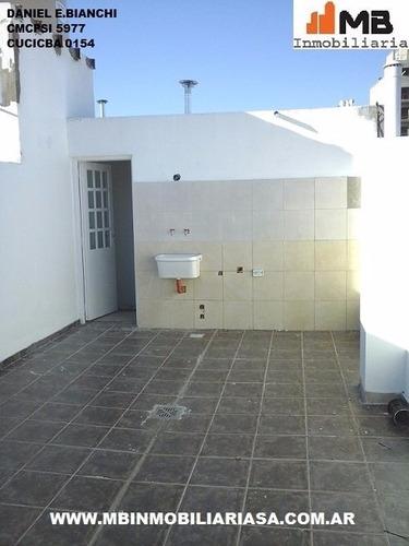 vendido!!parque patricios ph 2amb.c/terraza salcedo 3200 1°6