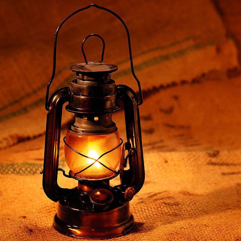 Plano pabilo canil tormenta farol petroleum lámpara Spiritus quemador lámparas de aceite