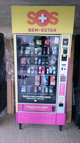 vending machine aceita cartão e com telemetria completa!!!!