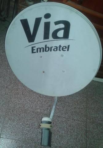 vendo 02 antenas parabolicas 01 banda c e 01 banda ku=usadas