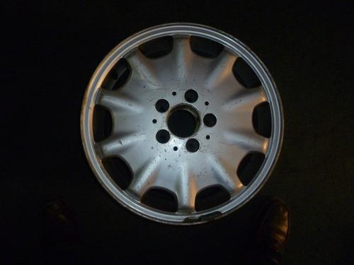 vendo 1 rines de mercedes benz e320 año 1999, # 16 aluminio