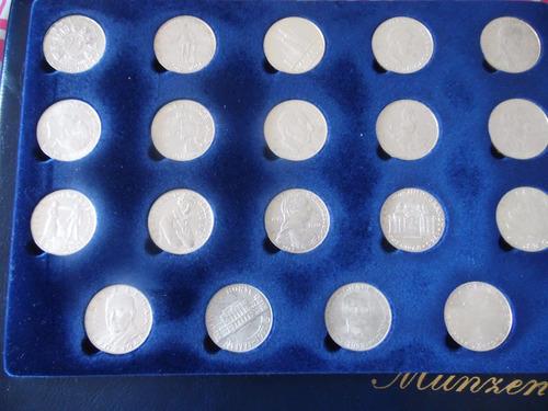 vendo |19monedas de platas  25 schillings austria