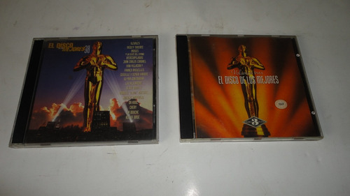 vendo 2 cds el disco de los mejores