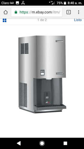 vendo 2 maquinas de hacer hielo scottman a excelente precio