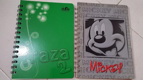 vendo (22) cuadernos varios