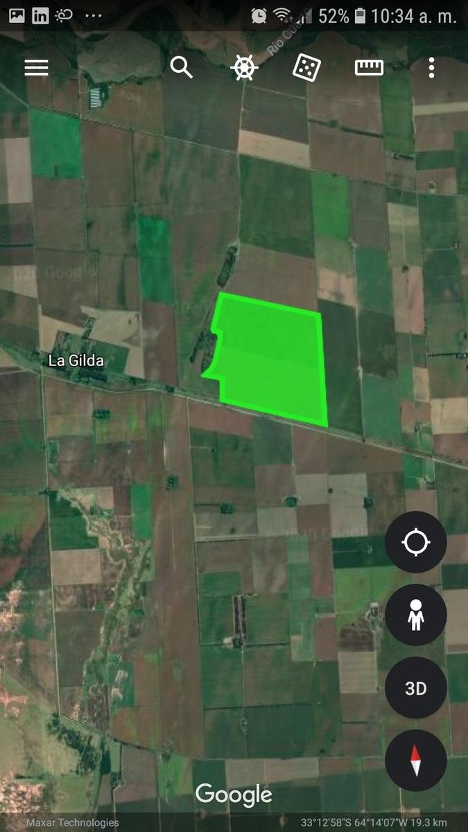 vendo 230 hectareas ( a 11 km de rio cuarto. cba )