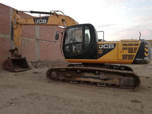 vendo 3 excavadoras jcb año 2013