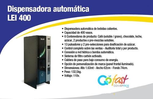 vendo-3 maquinas vending cafe (biometria-telemetria)-permuta