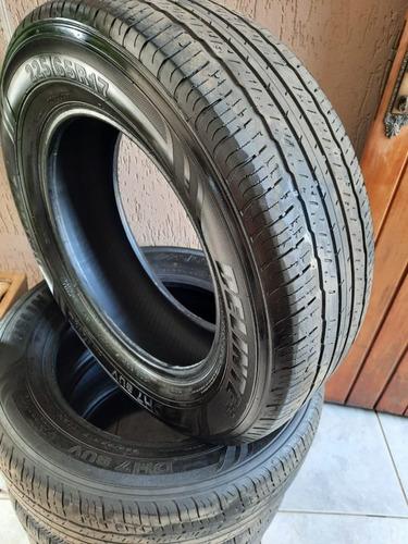 vendo 4 pneus usados, aro 17 não são remoldes.