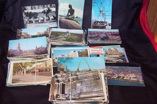 vendo 50 tarjetas postales de diferentes paises