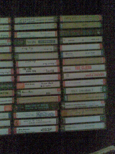 vendo 58 casettes de rock de todas las epoca