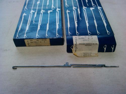 vendo agujas de tejer dubied galga 8. 7 y 5 maquinas jet 2