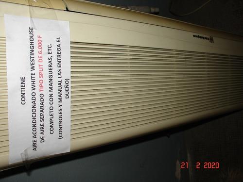 vendo aire acondicionado split - white westinghouse ww 6000f