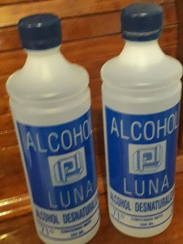 vendo alcohol de 500ml