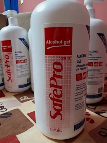 vendo alcohol gel certificado