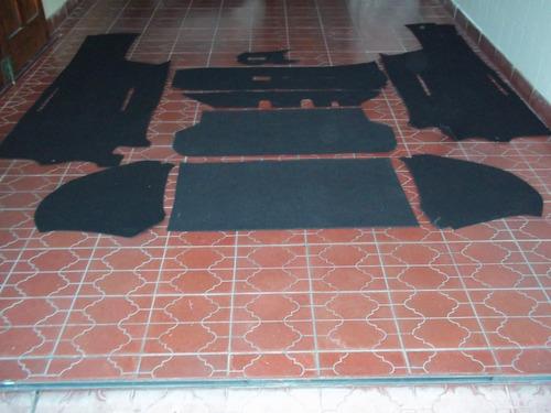 vendo alfombras en mokete para fiat 600