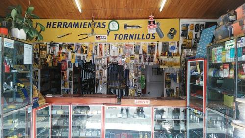 vendo almacén tornillos y herramientas