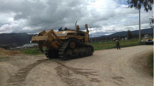vendo-alquilo bulldozer caterpillar d9n con ripper
