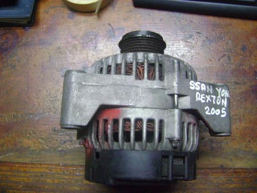 vendo alternador de ssang yong rexton, año 2005. 5 cilindros