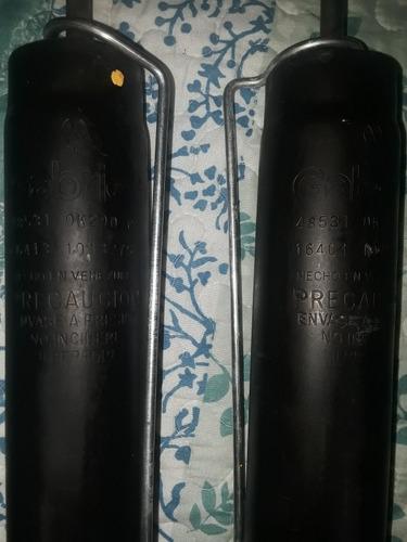 vendo amortiguadores traseros de meru y autana marca gabriel