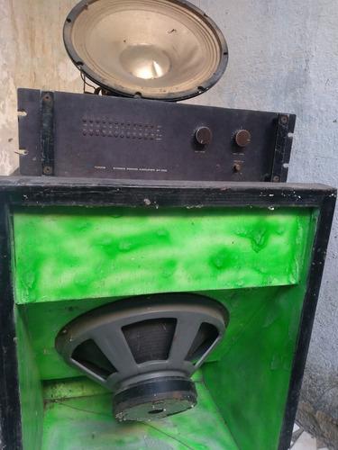 vendo amplificador e caixas de som