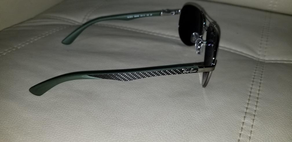 65cf231df1 vendo anteojos polarizados ray-ban tech rb8313 carbon fibre. Cargando zoom.