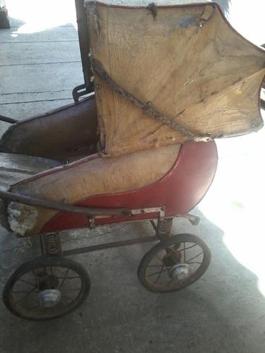 vendo antiguo coche de bebe para resturar