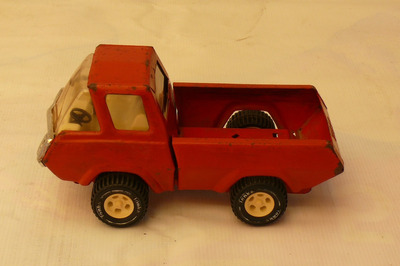 vendo antiguo juguete camion rojo marca tonka made in usa
