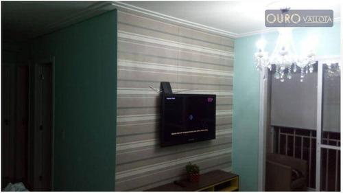 vendo ap na mooca - 2 dorm - 1 vg - lindo - prédio com lazer - ap1677