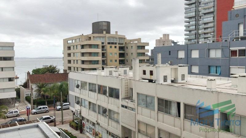vendo apartamento 2 dormitorios reciclado, peninsula a pasitos del puerto de punta del este-ref:654