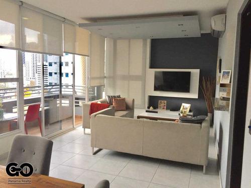 vendo apartamento amoblado en via argentina ph luxor tower 2