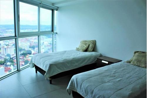 vendo apartamento amoblado en yacht club, av. balboa 19-2868