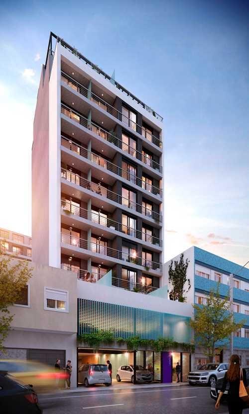 vendo apartamento de 2 dormitorio con terraza en el cordon
