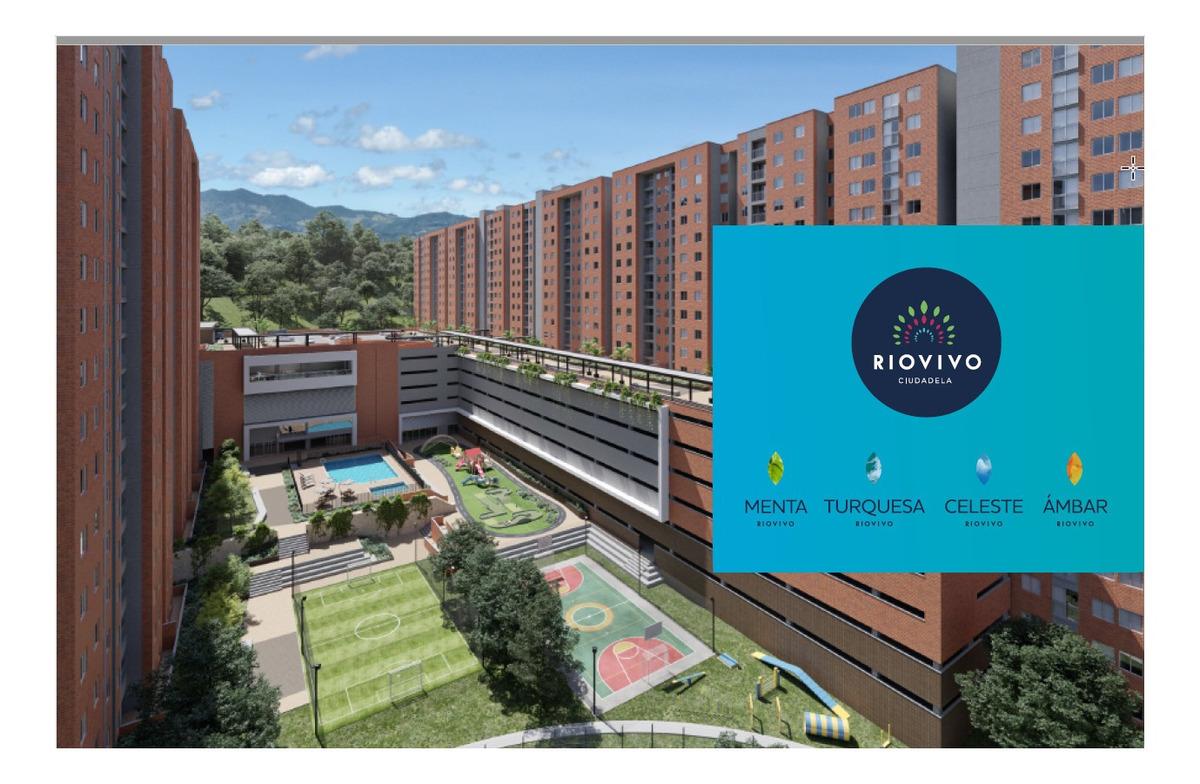 vendo apartamento en ciudadela riovivo - menta. rionegro